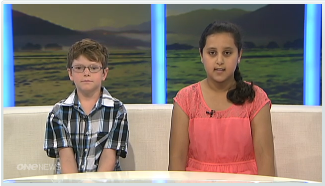 Kids on One News